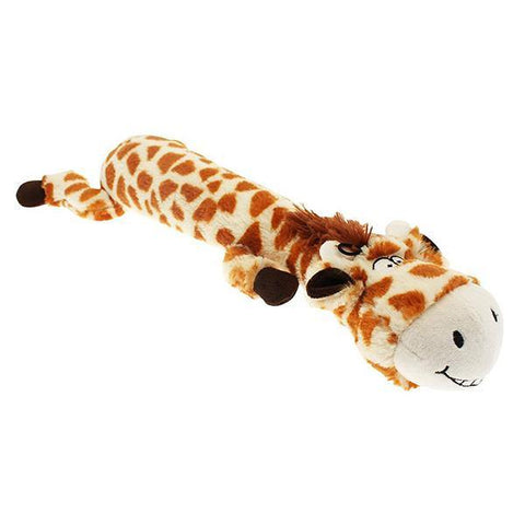 Safari Squeaker Giraffe Dog Toy