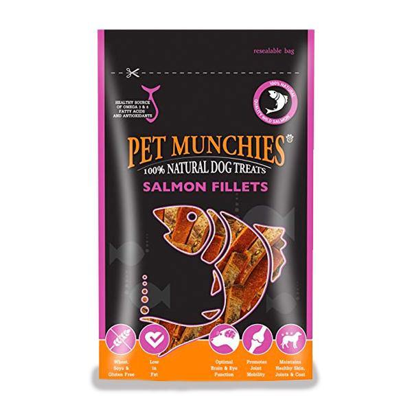 Pet Munchies Salmon Fillets - Underdog Pets