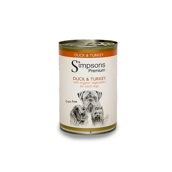 Simpsons Duck & Turkey Casserole Dog Food