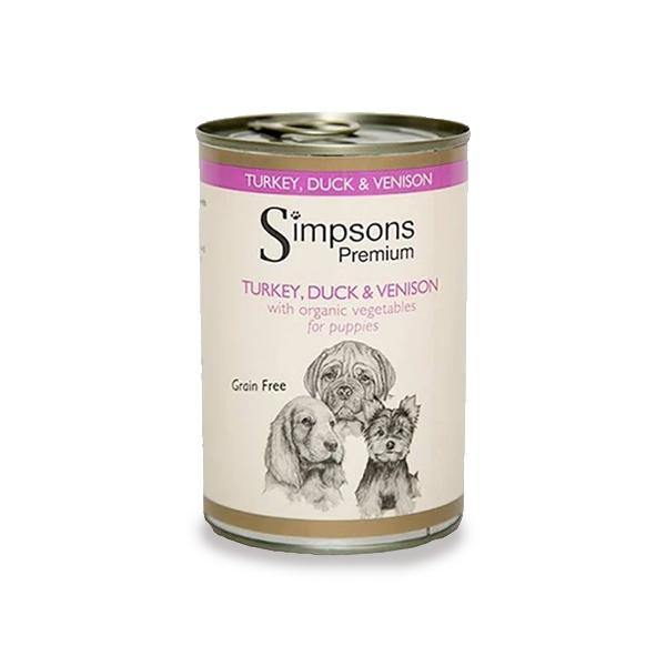 Simpsons Puppy Turkey, Duck & Venison Casserole