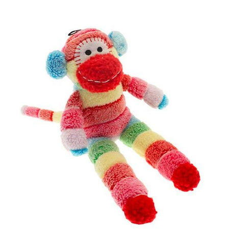 Sock Monkey Dog Toy - Underdog Pets