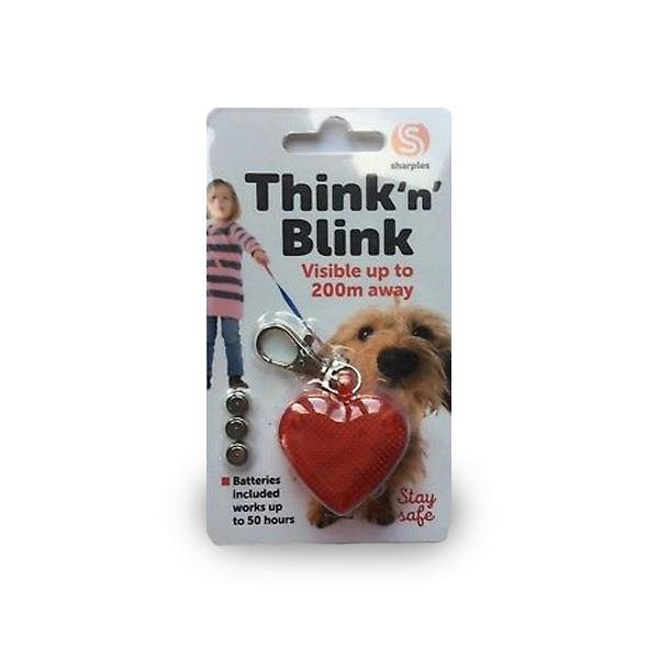 Think N' Blink Flashing Dog Collar Light