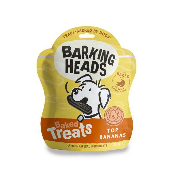 Barking Heads Top Banana Baked Treats