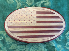 American Flag music box