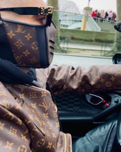 Load image into Gallery viewer, Louis Vuitton Monogram Leather Mask