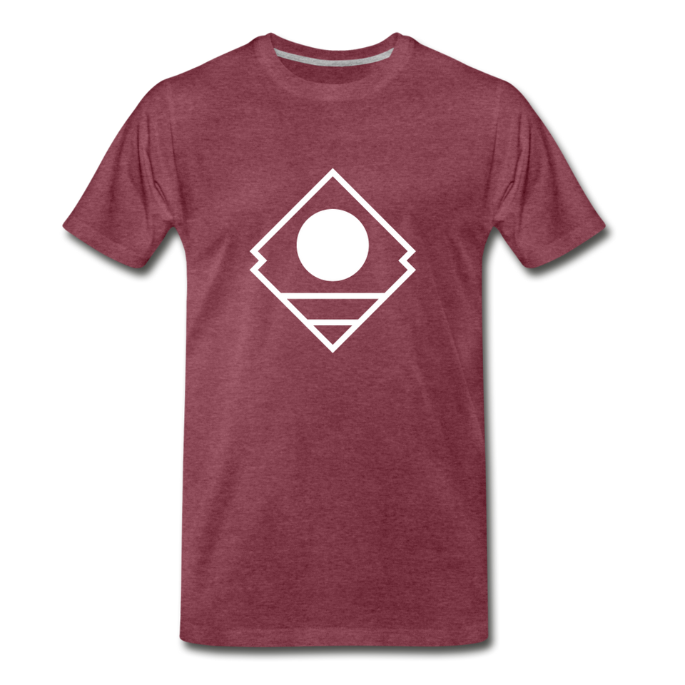 """Not the movie"" Serenity Tee - heather burgundy"
