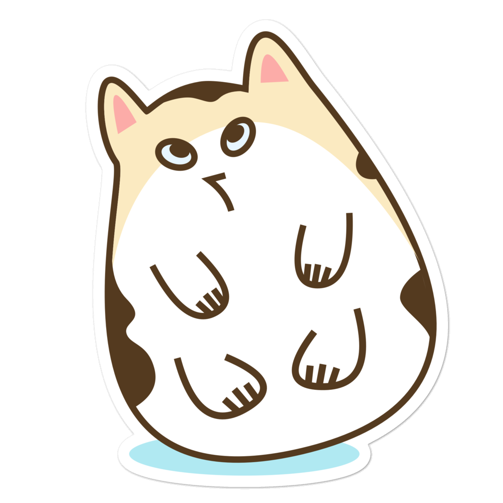Fat Cat - weneedmorestickers