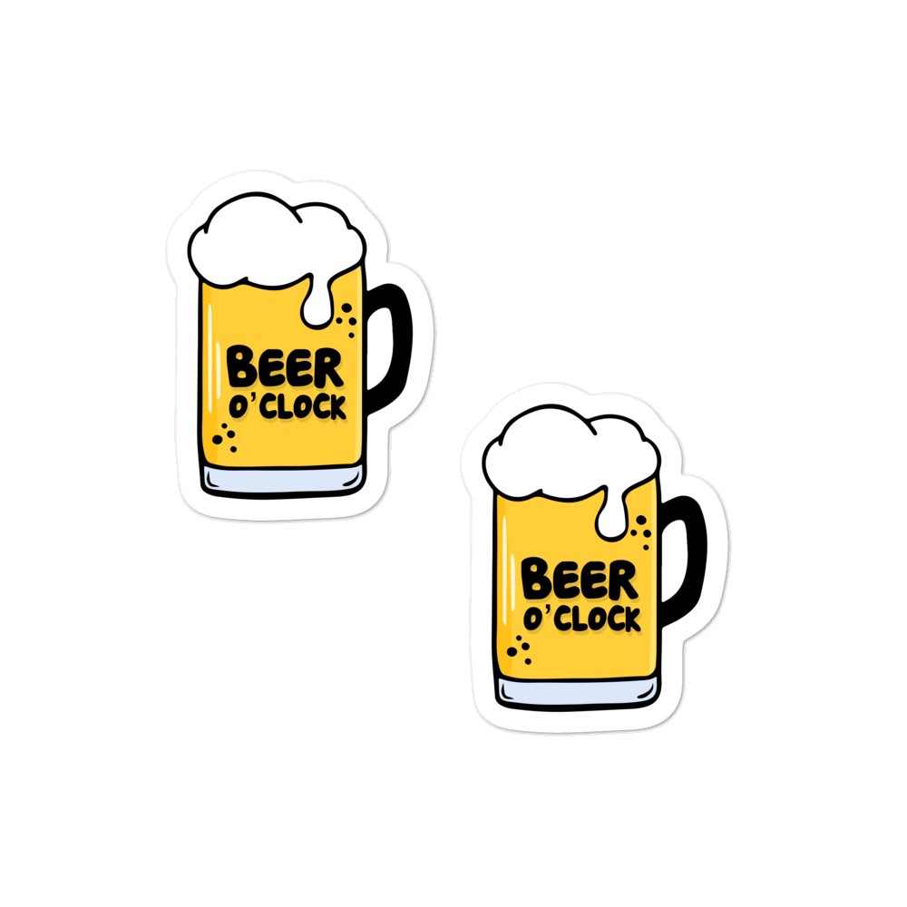 Beer O'clock sticker pack - weneedmorestickers
