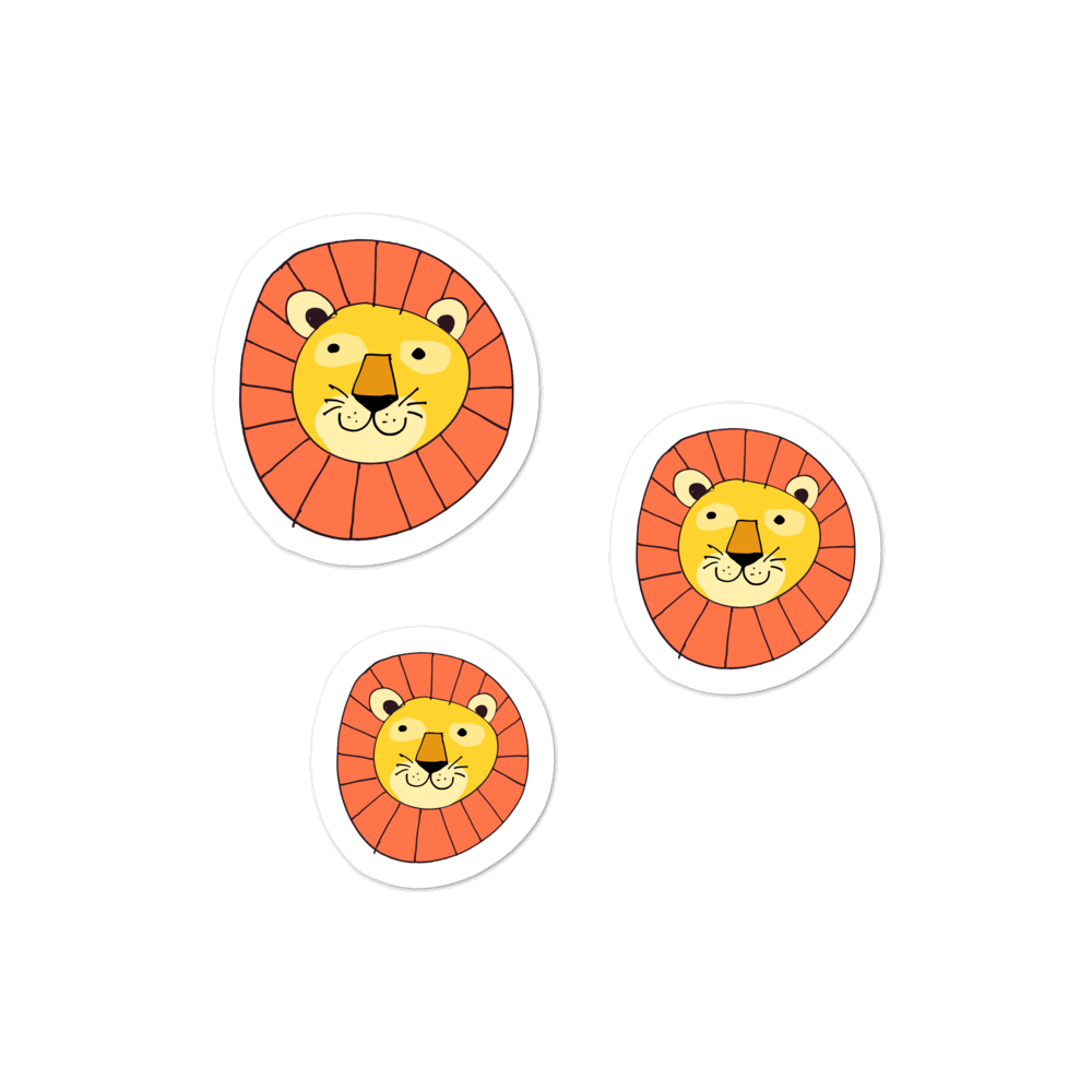 Baby Lion sticker pack - weneedmorestickers