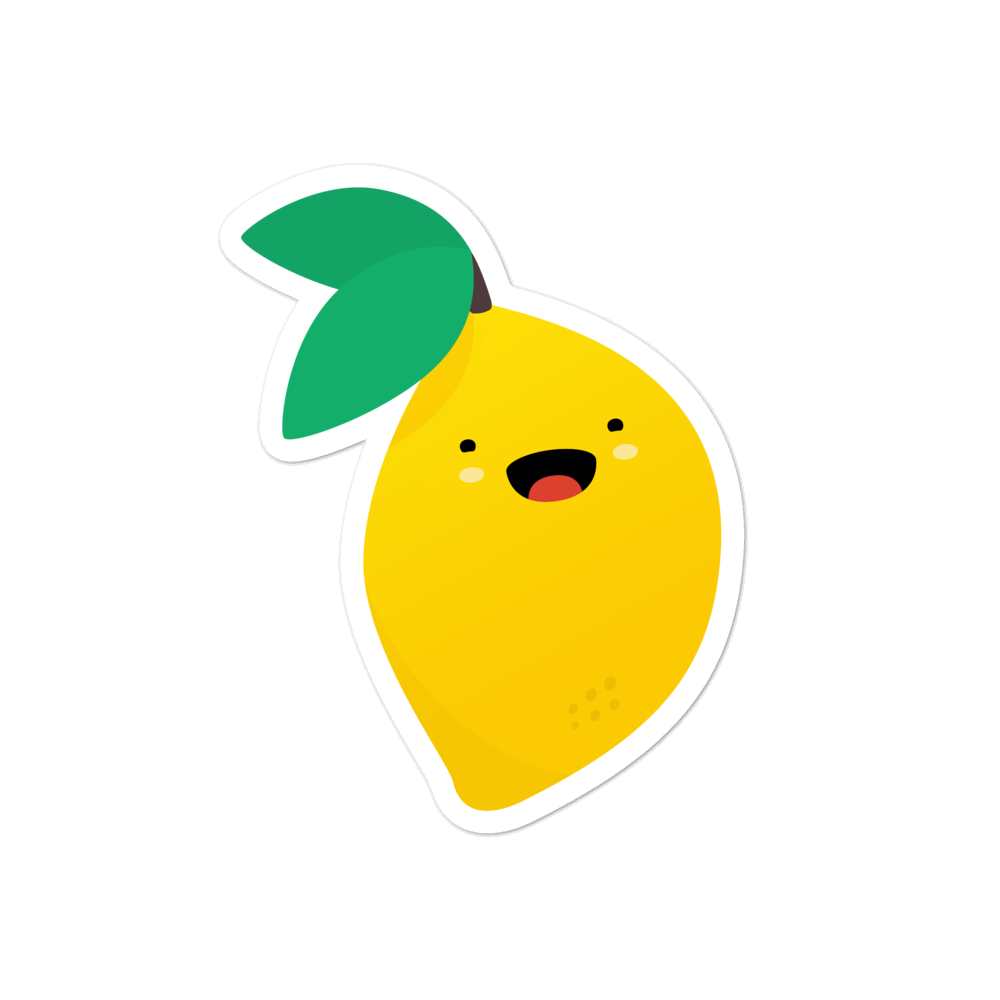 Lemon kawaii - weneedmorestickers