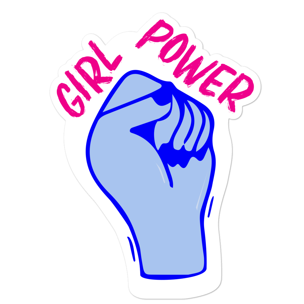 Girl Power sticker - weneedmorestickers