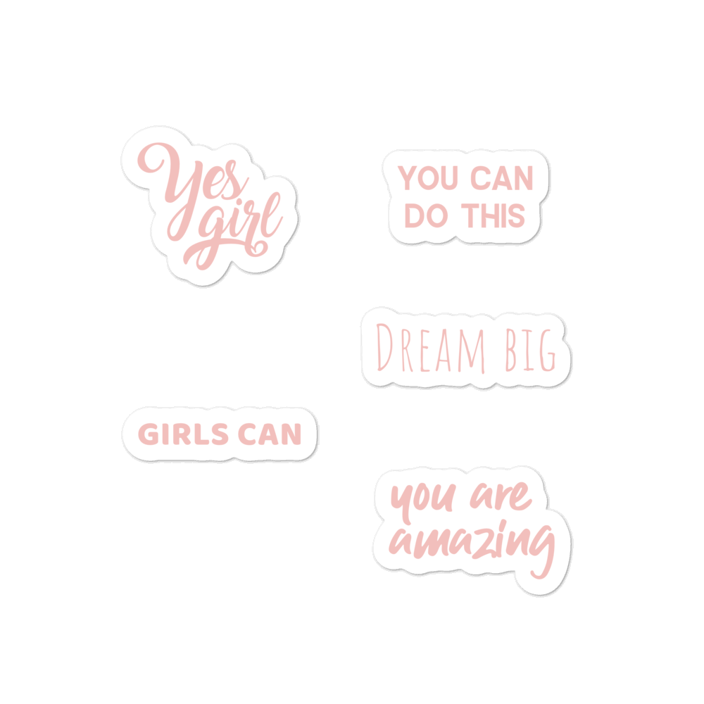 GIRLS KIT sticker pack - weneedmorestickers