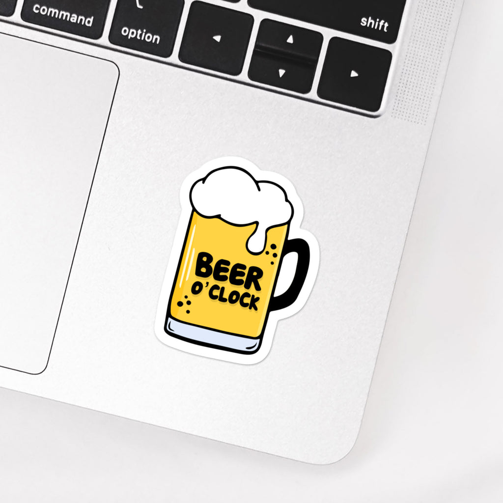Beer O'clock stickers