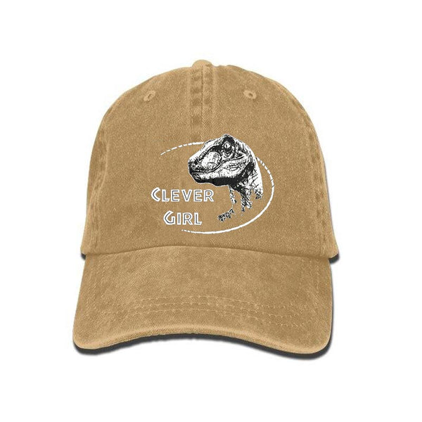 Casquette Dinosaure Clever girl - Squelette Fossile Shop