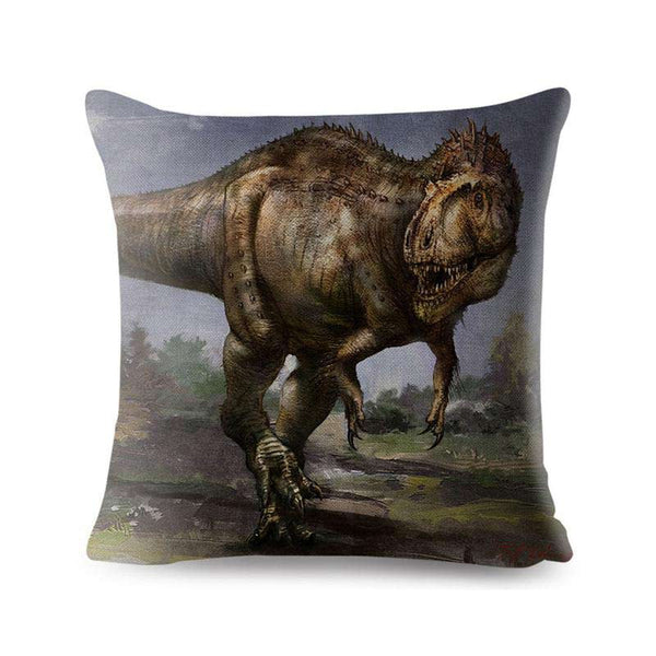 Coussin Dinosaure Tyrannosaure - Squelette Fossile Shop