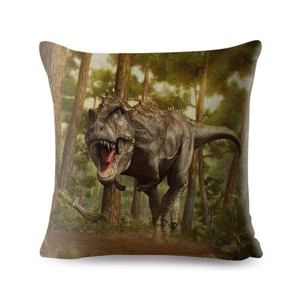 Coussin Dinosaure Tyrannosaurus - Squelette Fossile Shop