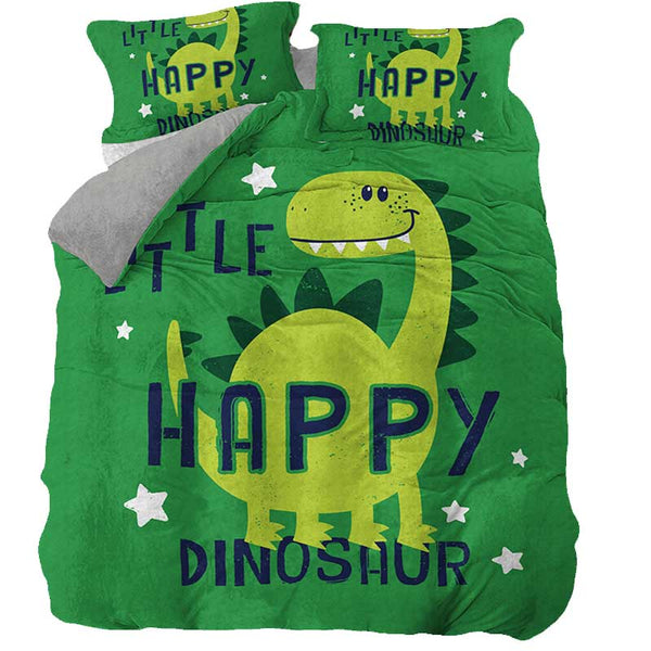 Housse de couette Little Happy Dinosaure - Squelette Fossile Shop