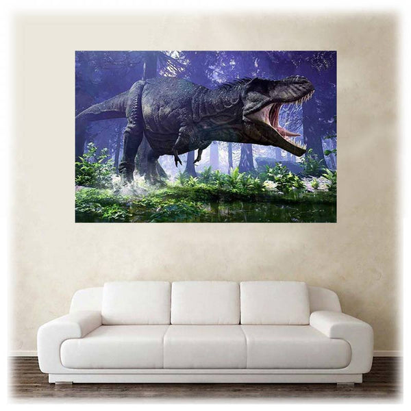 Poster Tyrannosaurus-Rex - Squelette Fossile Shop