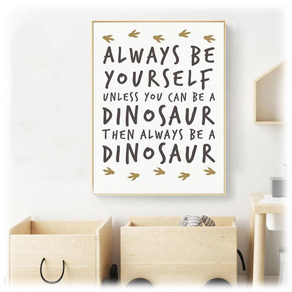 Poster Dinosaure