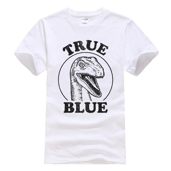T-shirt Dinosaure True Blue - Squelette Fossile Shop