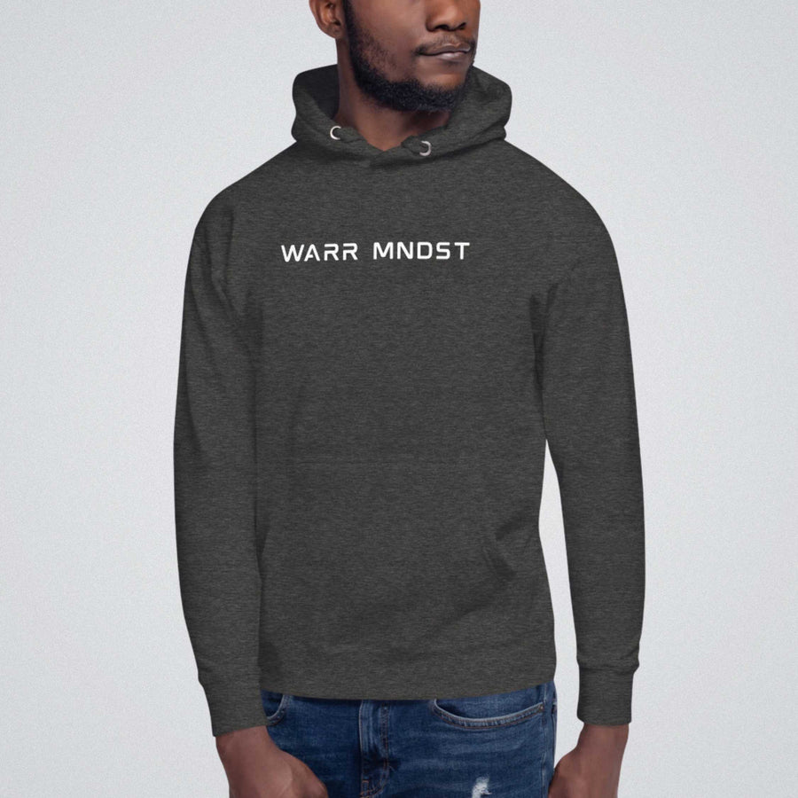 WARR MNDST Hoodie - Charcoal Heather