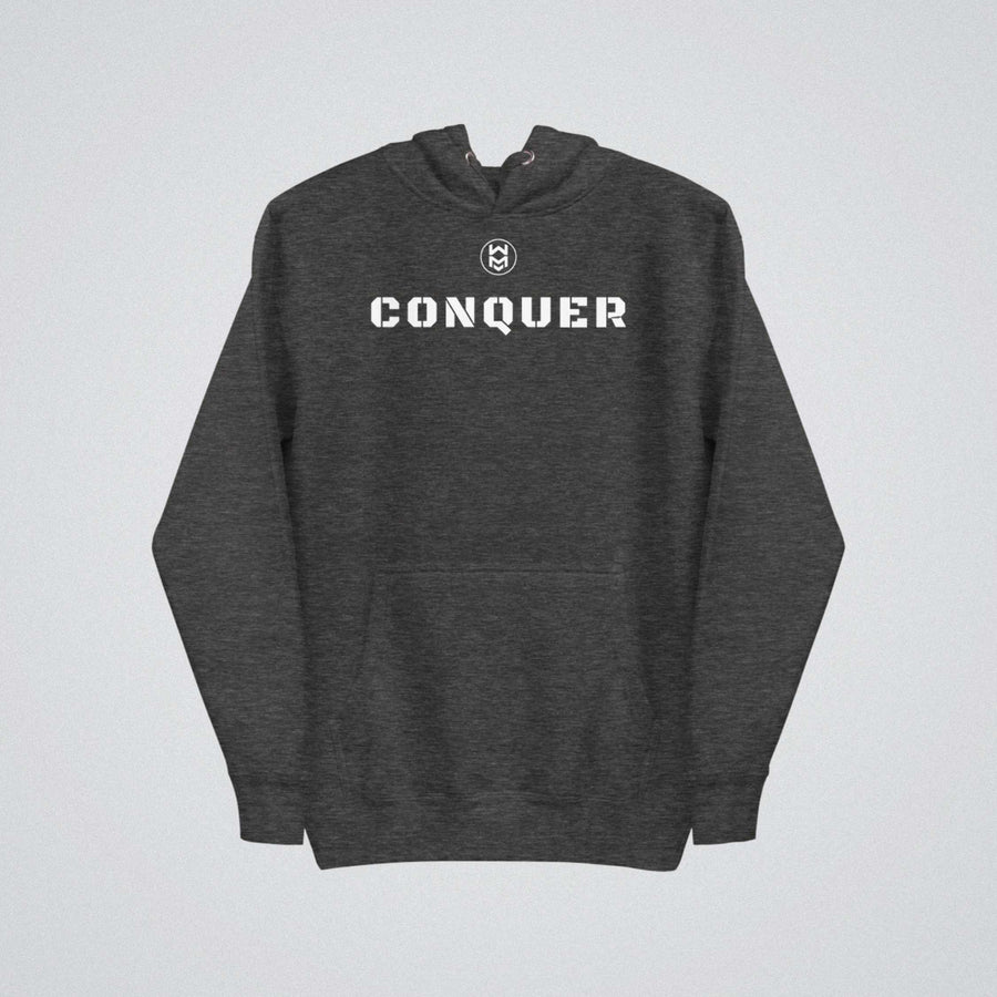 Conquer Hoodie - Charcoal Heather