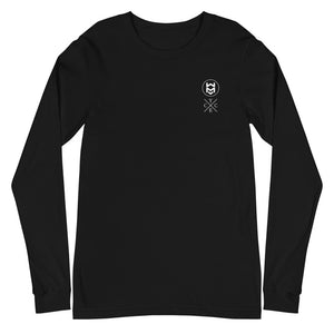 Dual Logo Long Sleeve - Black