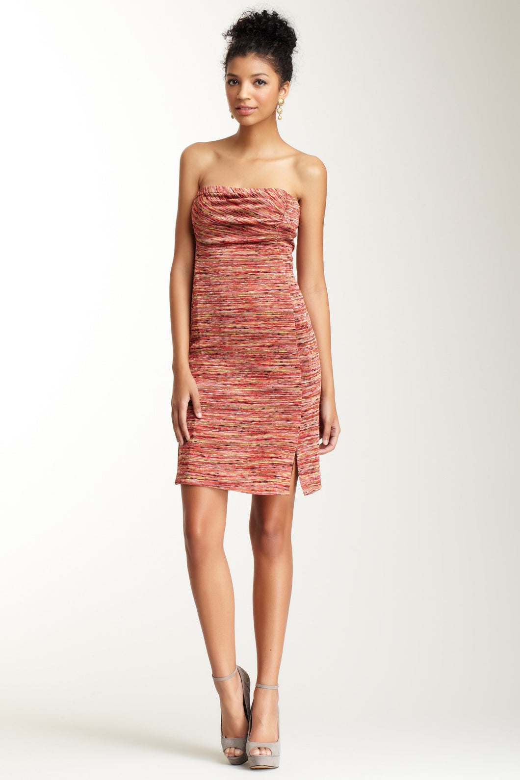 Strapless Knit Dress - Missoni Red