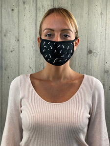 Face Mask Black (10 Unità)