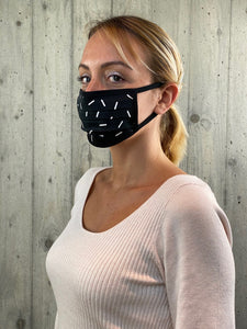 Face Mask Black (5 Unità)