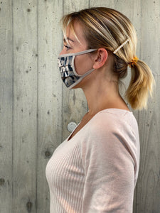Face Mask Grey Jungle (10 Unità)