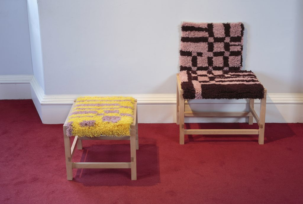 Ryijy with Claire Barclay - Design Exhibition Scotland