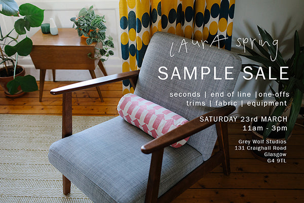 laura spring studio sample sale
