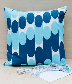 Make It Yourself Cushion Kit - Convergence - Hazy Blue