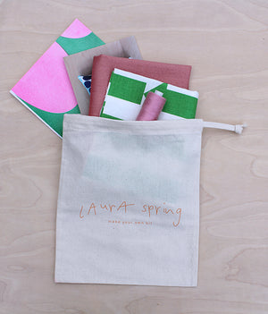 Make Your Own Cushion Kit - Arrow - Green