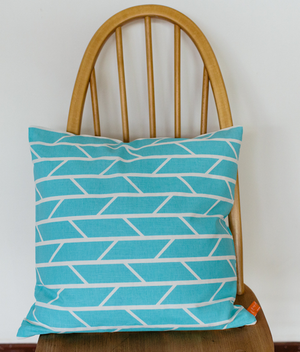 Cushion - Convergence - Light Blue
