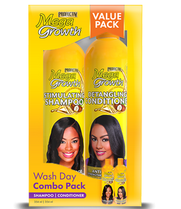 Megagrowth 2-in-1 Wash Day Combo Value Pack 354ml + 354ml Hair Regimen