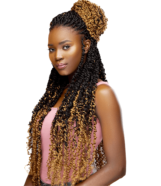 Darling Passion Twist Crochet hair extension