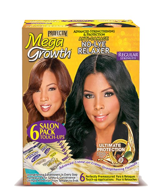Profectiv Megagrowth Regular Relaxer with Gel Neutralizing Shampoo Relaxer