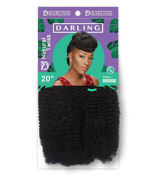 Darling Natural Twist Crochet