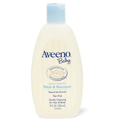 Aveeno Baby - Wash & Shampoo 236 ml | Hotally Singapore