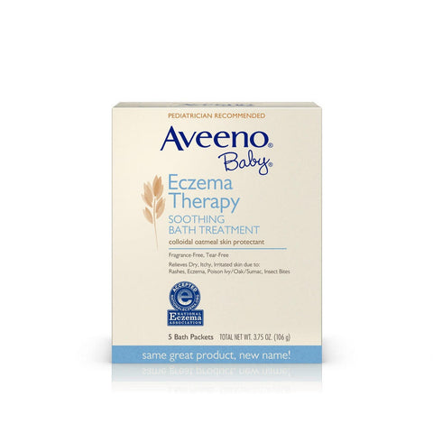 Aveeno Baby - Eczema Therapy Soothing Bath Treatment