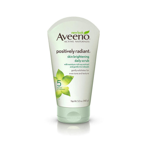 Aveeno - Positively Radiant Skin Brightening Daily Scrub 140g