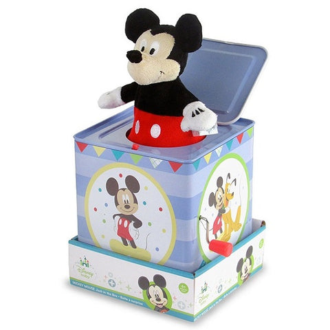 Kids Preferred - Disney Baby Mickey Mouse Jack in the Box