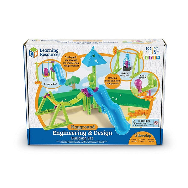 Learning Resources - Playground Engineering & Design Building Set