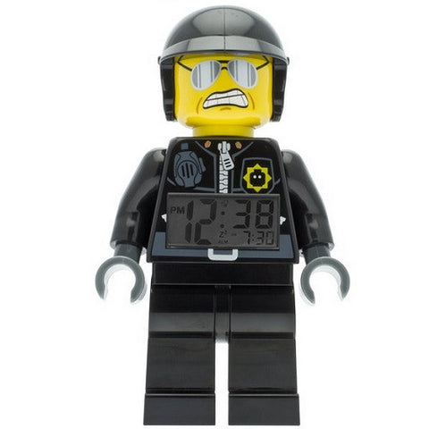 LEGO Minifigure Alarm Clock - Movie Bad Cop