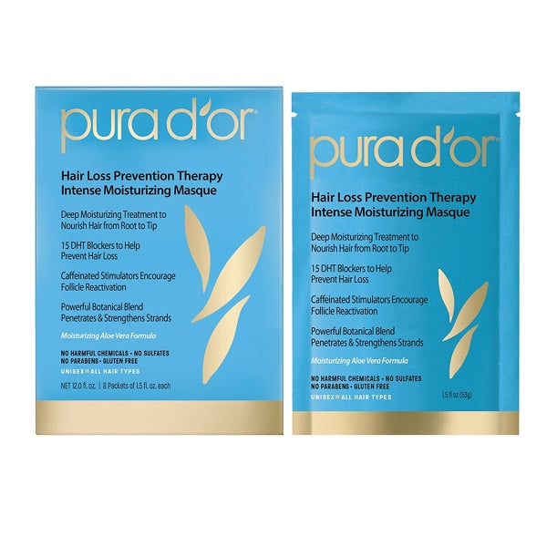 Pura d'or - Hair Thinning Therapy Intense Moisturizing Masque 424g