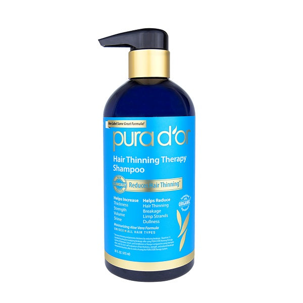 Pura d'or - Hair Thinning Therapy Shampoo 473ml