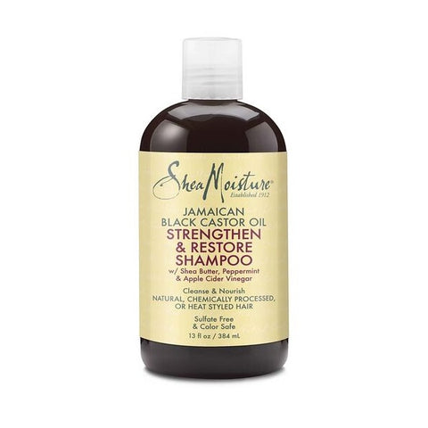 SheaMoisture - Jamaican Black Castor Oil Strengthen & Restore Shampoo 384ml