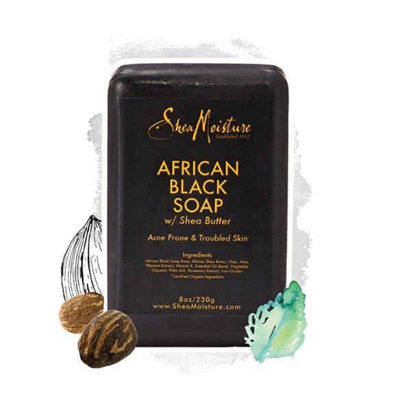 SheaMoisture - African Black Soap Bar w/ Shea Butter 230g